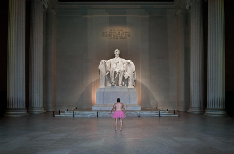 The Tutu Project Lincoln Memorial