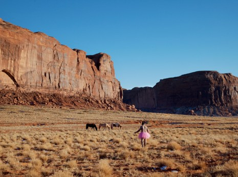 The Tutu Project Three Horses Navajo  Reservation