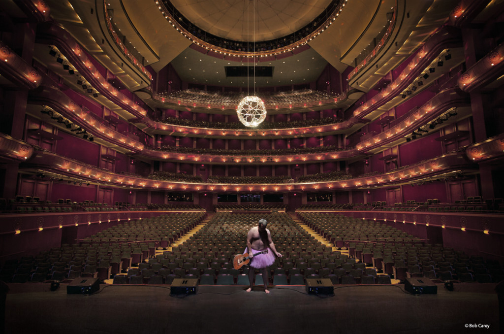 The Tutu Project image: BobCarey-NJPAC-Trigger-WillieNelson-Guitar